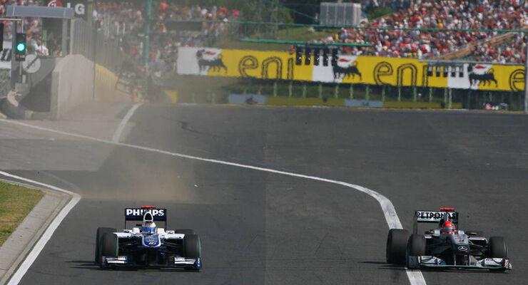 Schumacher vs Barrichello