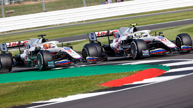 Schumacher vs. Mazepin - Formel 1 - Silverstone - GP England 2021