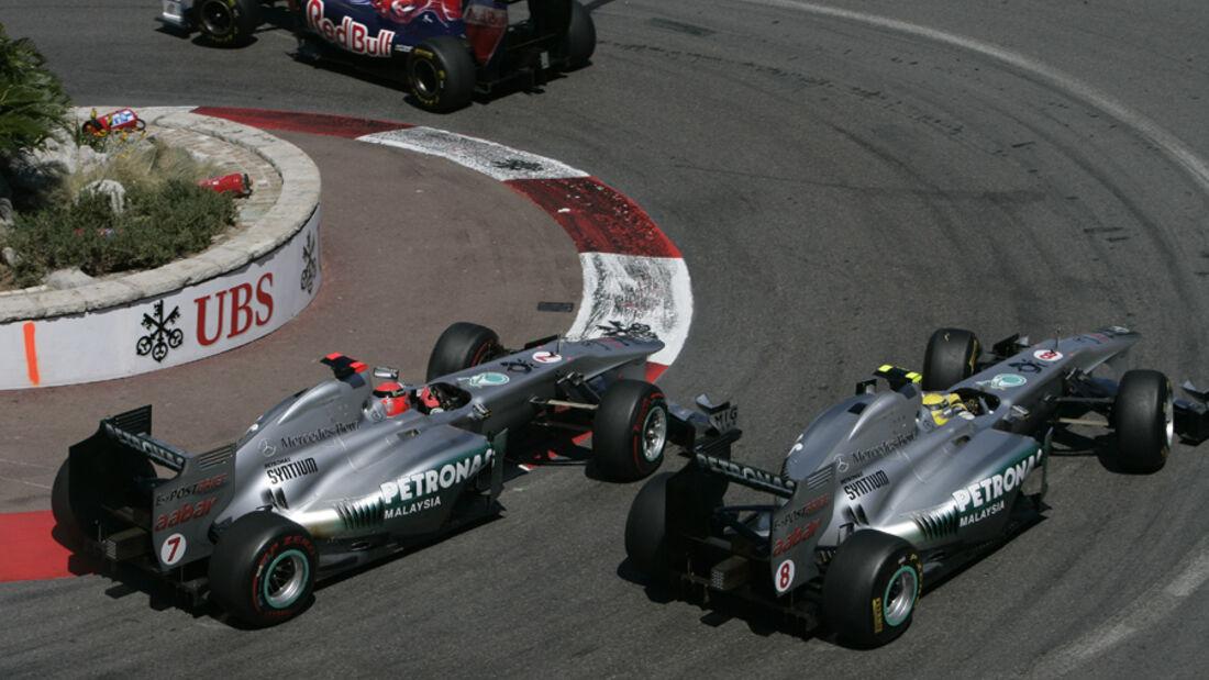 Schumacher vs. Rosberg