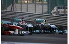 Schumacher vs. Rosberg GP Abu Dhabi 2011