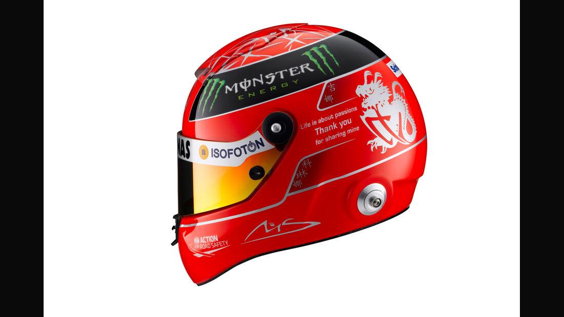 Schumcher-Helm - Formel 1 - GP Brasilien - Sao Paulo - 23. November 2012