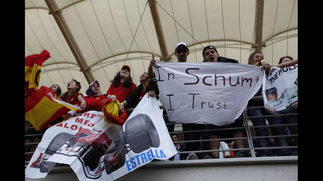 Schumi Fans GP Türkei 2011
