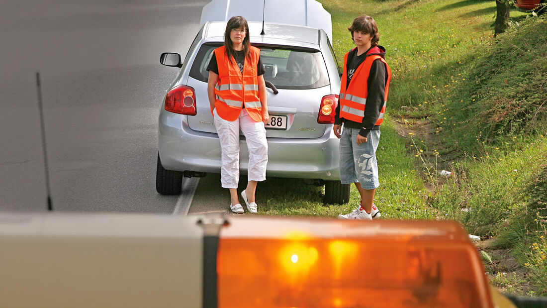Schutzbriefe, Autopanne