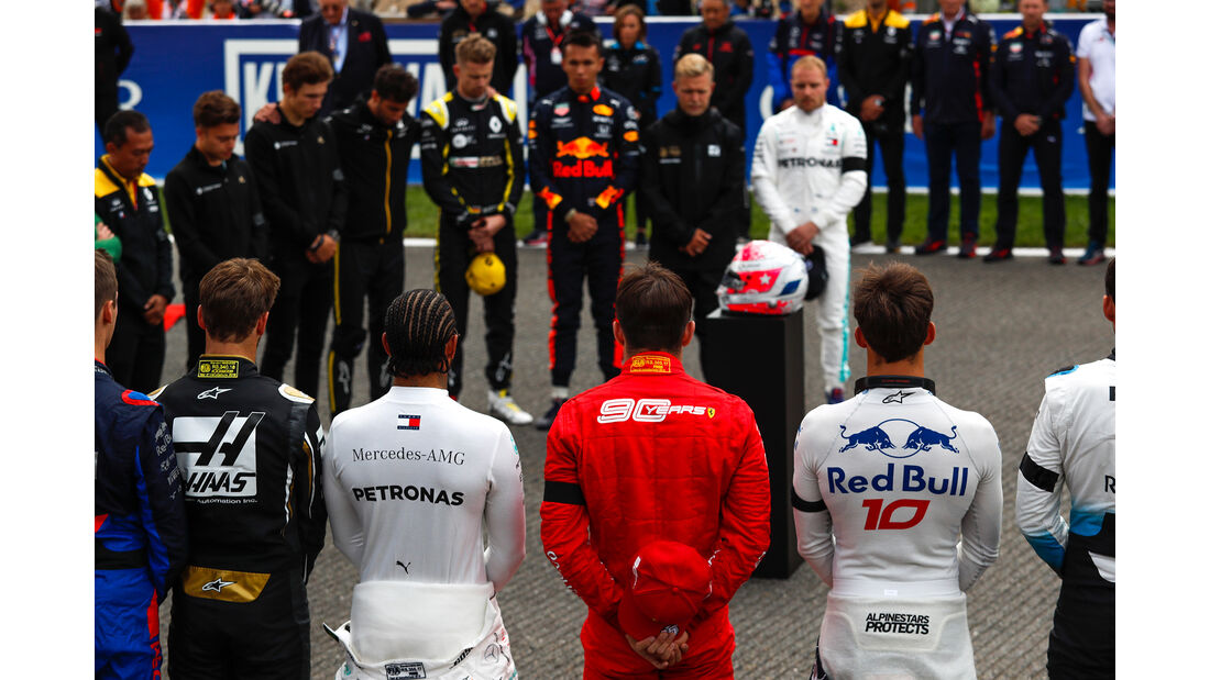 Schweigeminute - GP Belgien 2019 - Spa-Francorchamps