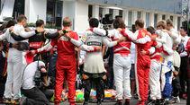 Schweigeminute - GP Ungarn - Budapest - Rennen - Sonntag - 26.7.2015