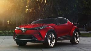 Scion C-HR Concept L.A. Autoshow