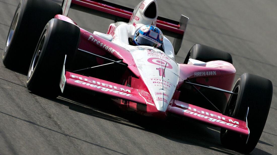 Scott Dixon - Ganassi Toyota - Indycar - Fontana - 2004