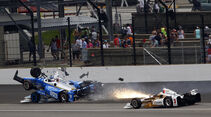 Scott Dixon - IndyCar-Crash - Indy500 - 2017