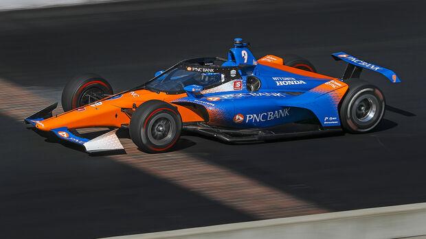 Scott Dixon - IndyCar - Indianapolis Motor Speedway