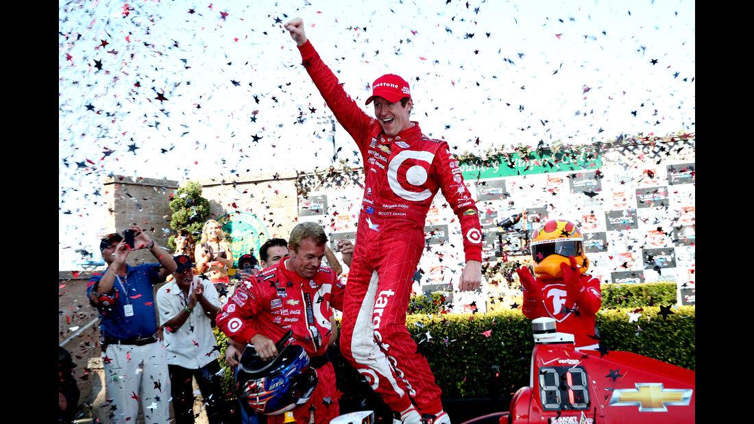 Scott Dixon - IndyCar - Sonoma - 2015
