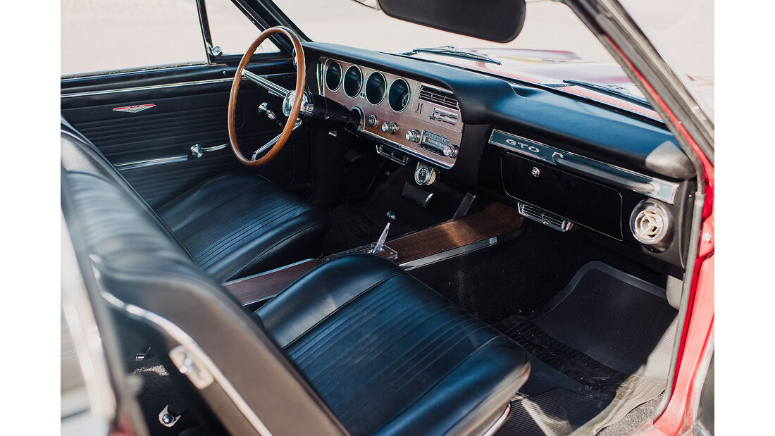 Scottsdale Auktion 2019 Bonhams Pontiac GTO
