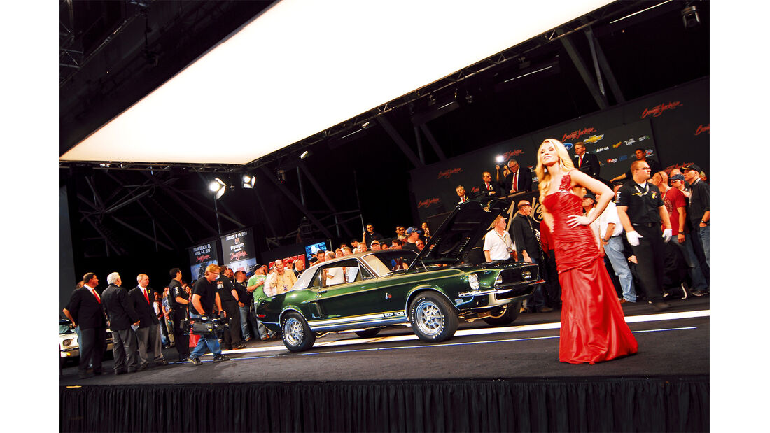 Scottsdale, Mustang, Bühne