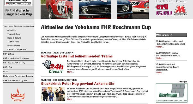 Screenshot FHR-Langstreckencup.de