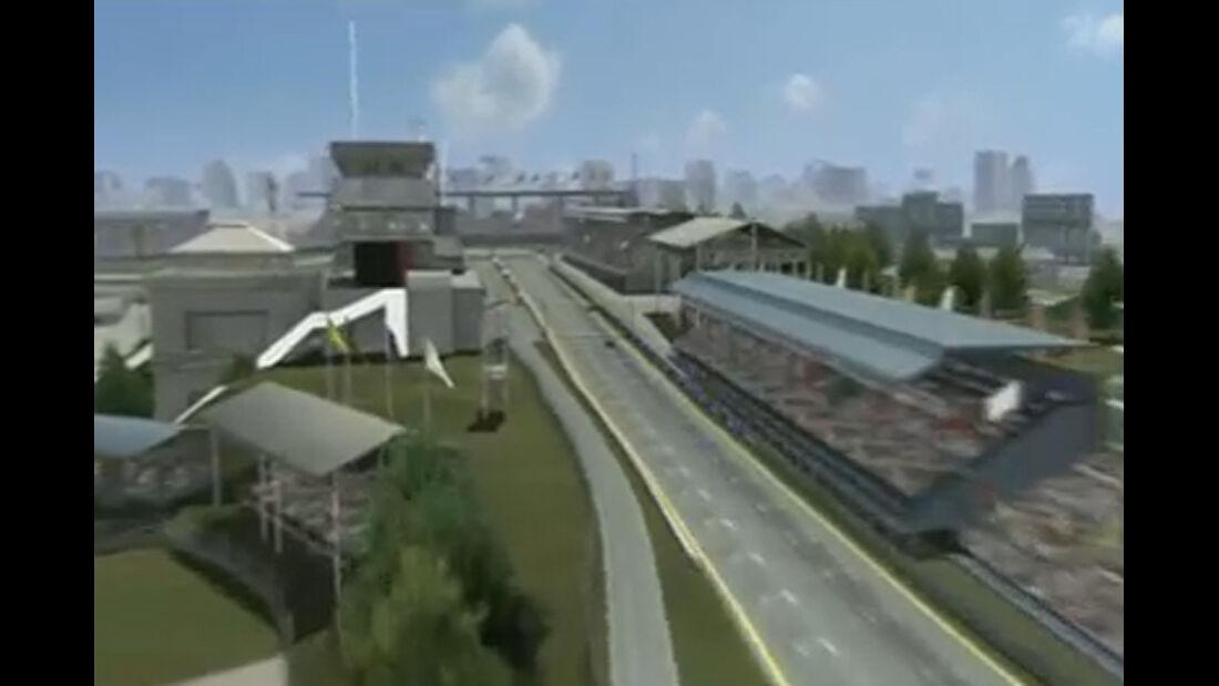 Screenshot GP Brasilien Video Teaser Streckenvorschau