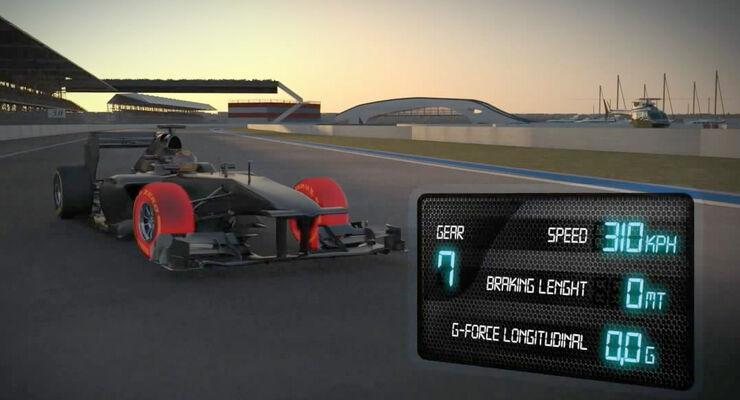 Screenshot Pirelli-Video GP Abu Dhabi 2012