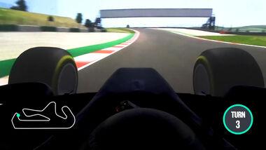 Screenshot - Portimao - Onboard-Video - Mercedes - 2020