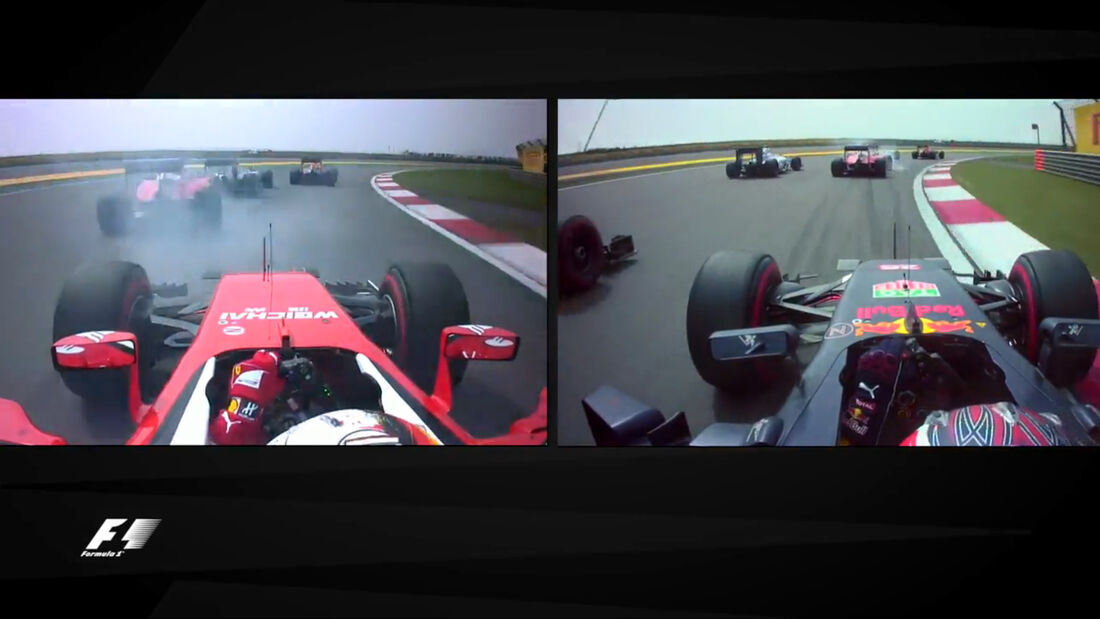 Screenshot - Start GP China 2016 - Kollision Ferrari