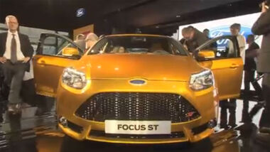 Screenshot ams-Channel Video Ford, Ford Focus ST