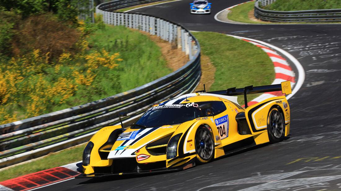 Scuderia Cameron Glickenhaus SCG003 - Startnummer #704 - 2. Qualifying - 24h-Rennen Nürburgring 2017 - Nordschleife