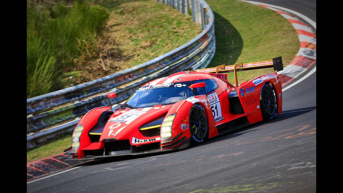 Scuderia Cameron GlickenhausSCG003C - Startnummer #51 - Scuderia Cameron - SPX - VLN 2019 - Langstreckenmeisterschaft - Nürburgring - Nordschleife