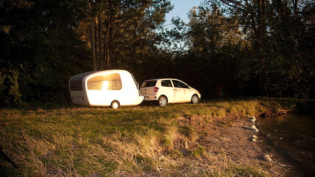 Sealander, Amphibien-Caravan