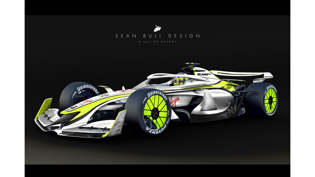 Sean Bull Design - Formel 1 2021 - Lackierung - BrawnGP 001