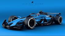 Sean Bull Design - Formel 1 2021 - Lackierung - Bugatti