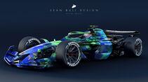 Sean Bull Design - Formel 1 2021 - Lackierung - Honda RA107