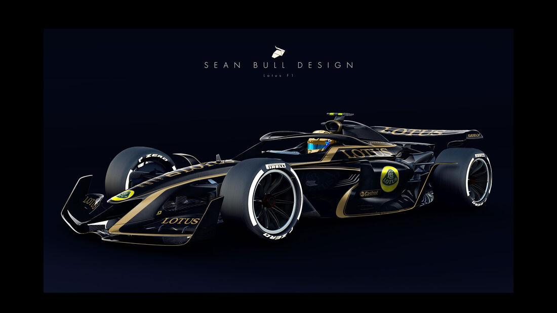 Sean Bull Design - Formel 1 2021 - Lackierung - Lotus F1