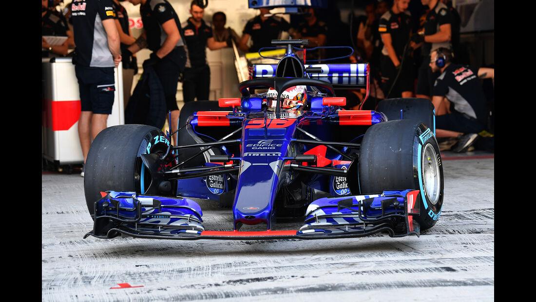 Sean Gelael - Toro Rosso - Abu Dhabi - Test 1 - 28. November 2017