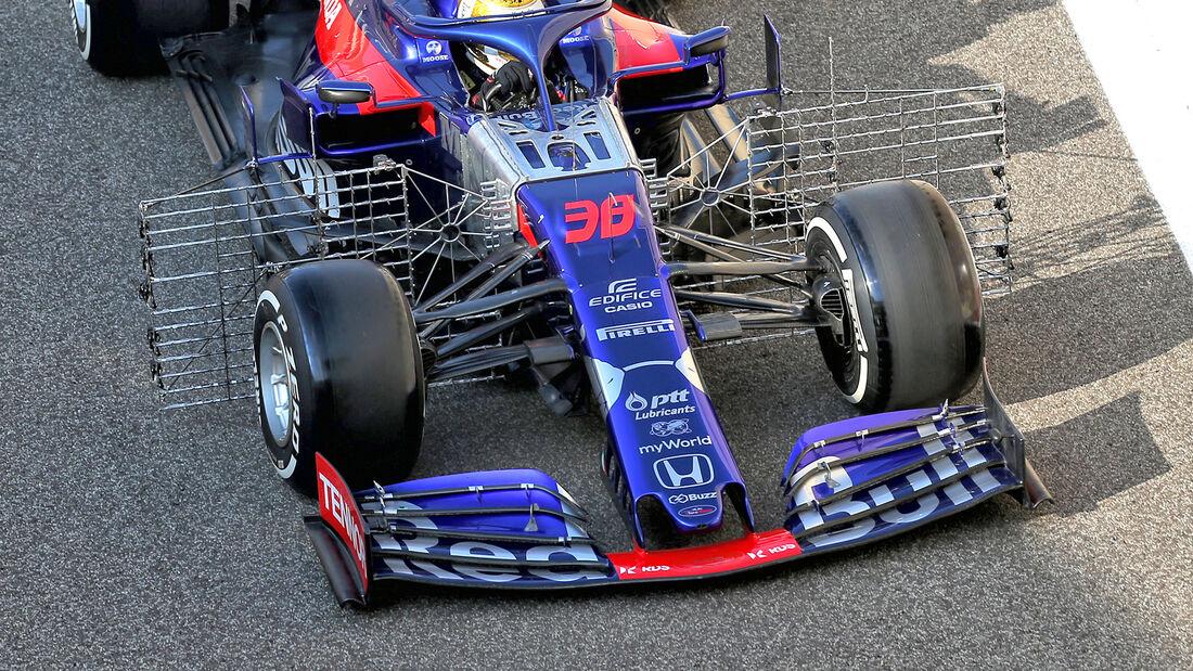 Sean Gelael - Toro Rosso - F1-Test - Abu Dhabi - 3. Dezember 2019