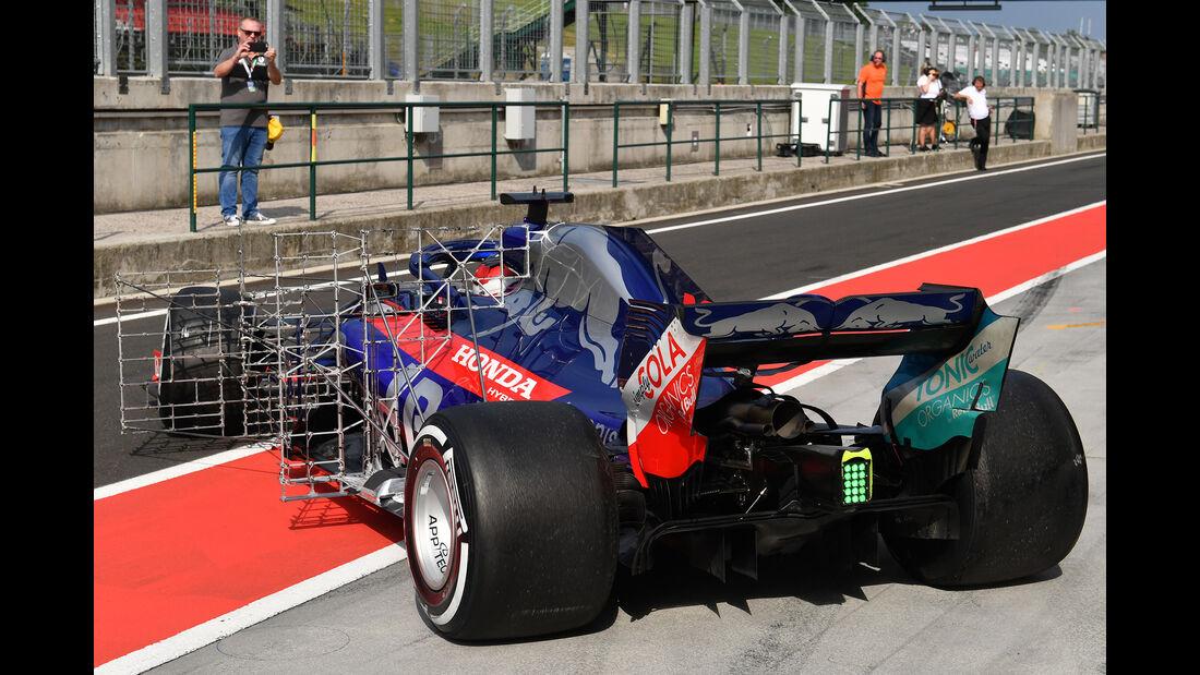 Sean Gelael - Toro Rosso - F1-Test - Budapest - 1. August 2018