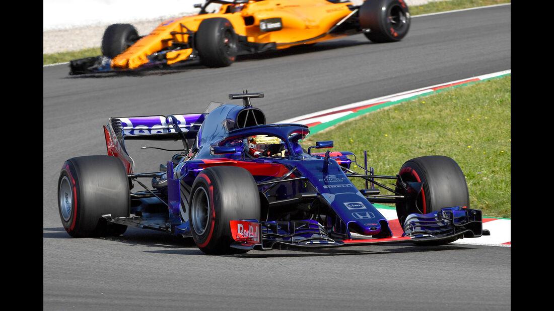 Sean Gelael - Toro Rosso - F1-Test - GP Spanien - Barcelona - Tag 2 - 16. Mai 2018