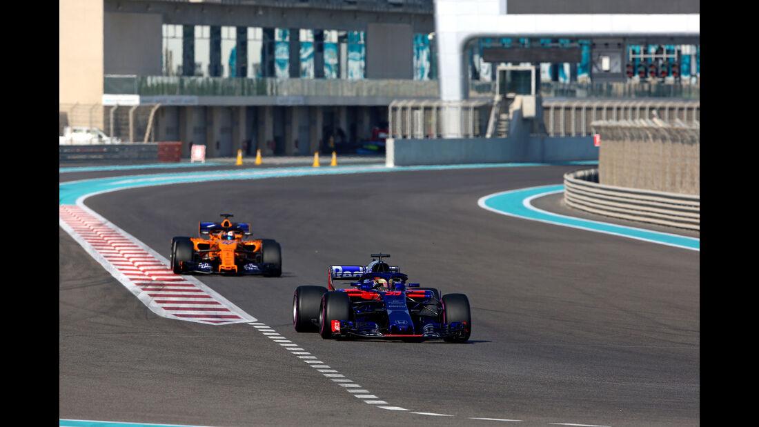 Sean Gelael - Toro Rosso - F1-Testfahrten - Abu Dhabi - 27.11.2018