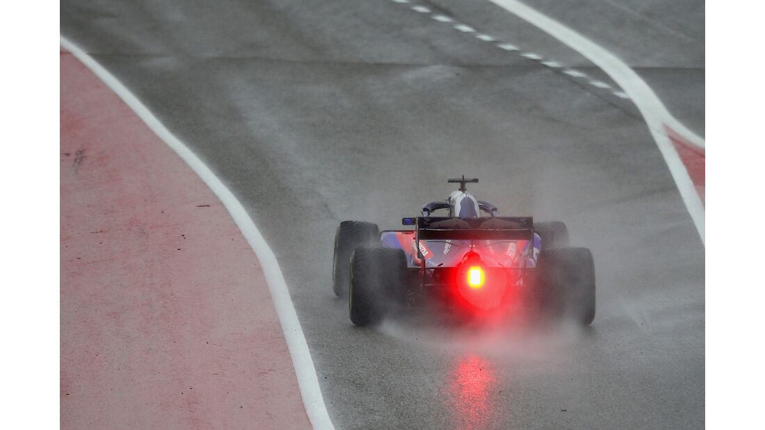 Sean Gelael - Toro Rosso - Formel 1 - GP USA - 19. Oktober 2018