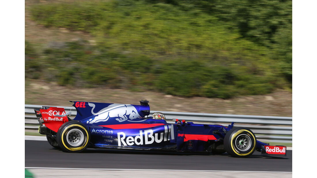 Sean Gelael - Toro Rosso - Formel 1 - Test - Ungarn - Budapest - 1. August 2017