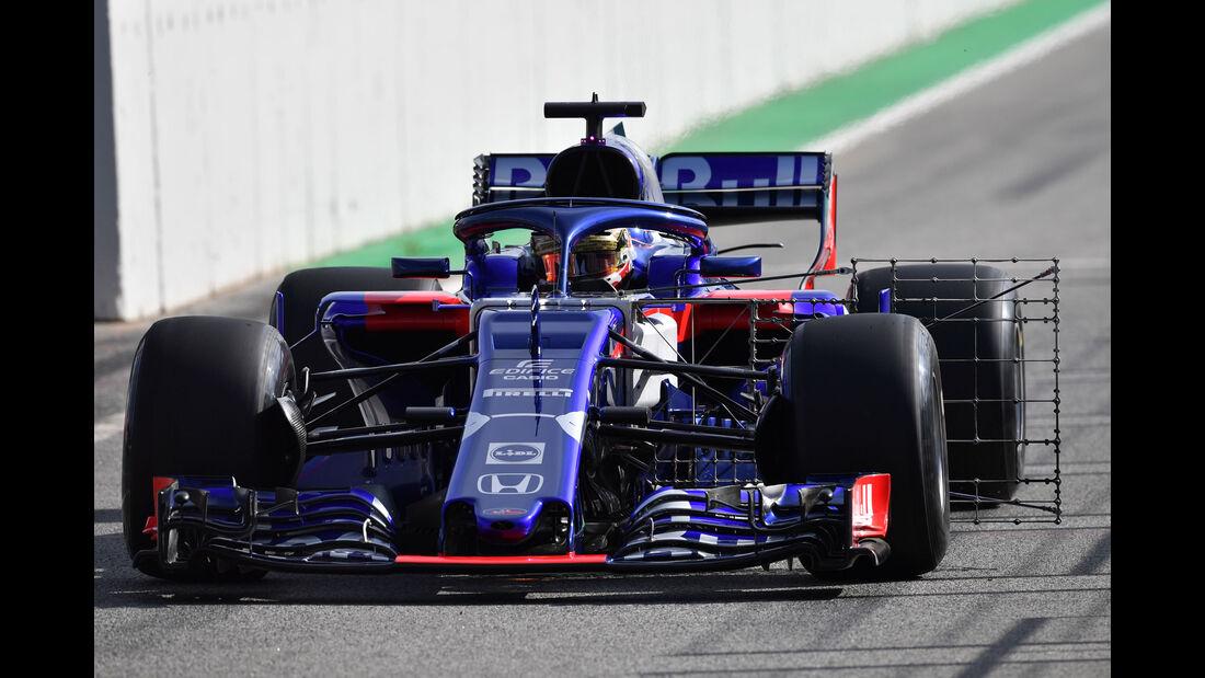 Sean Gelael - Toro Rosso - Formel 1 - Testfahrten - Barcelona - Dienstag - 15.5.2018