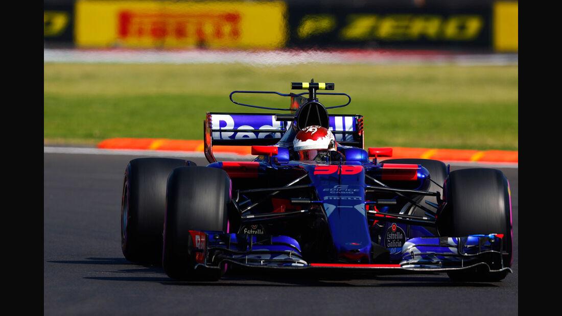 Sean Gelael - Toro Rosso - GP Mexiko - Formel 1 - Freitag - 27.10.2017