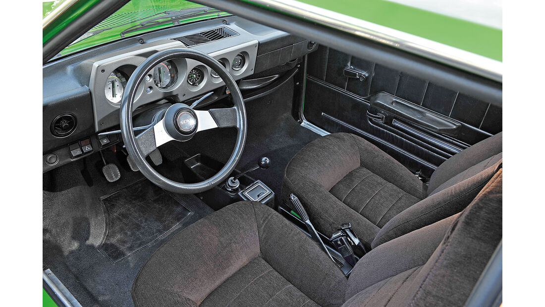 Seat 1200 Sport Bocanegra, Cockpit