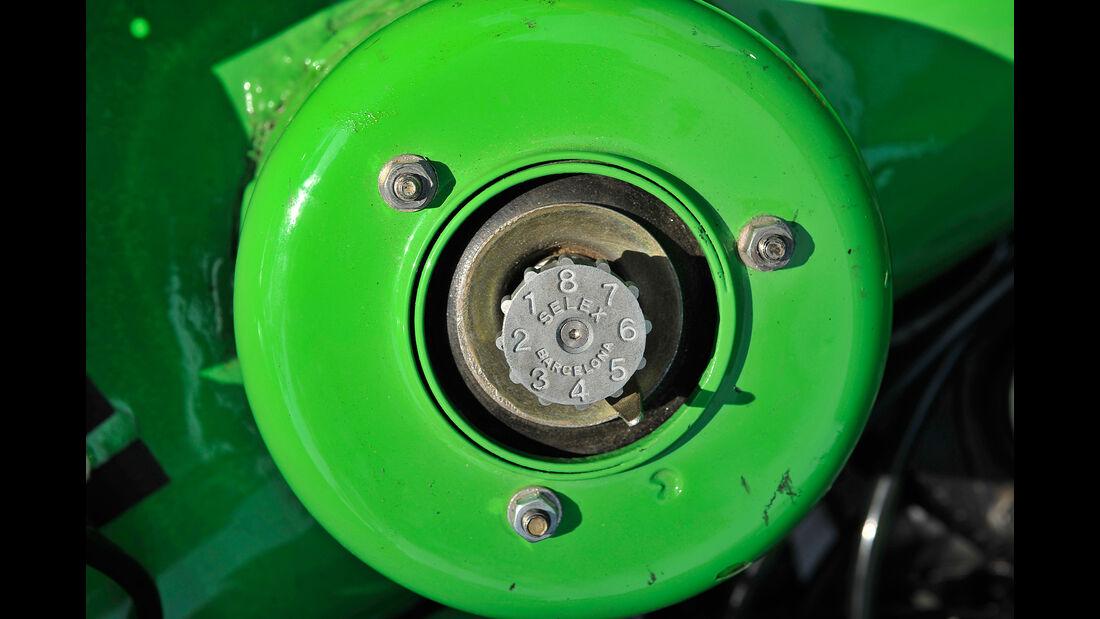 Seat 1200 Sport Bocanegra, Motorteil, Detail