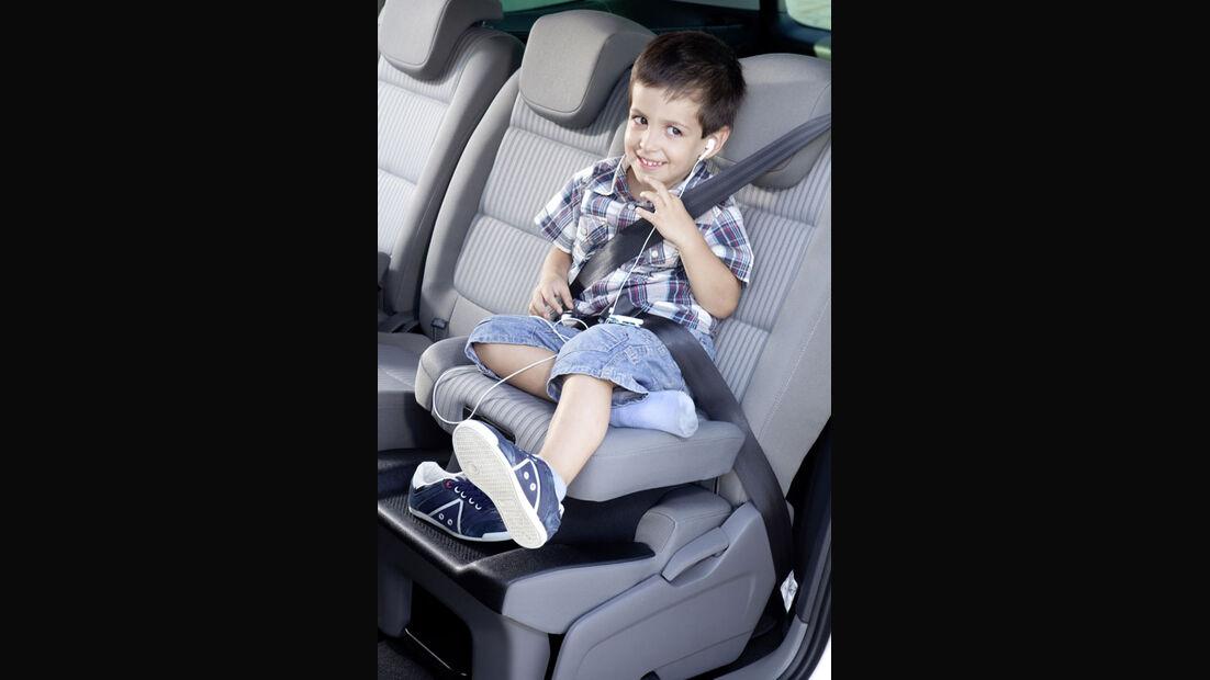Seat Alhambra, Kindersitz