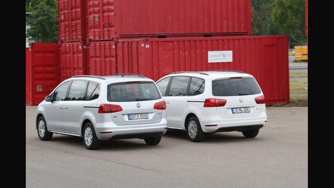 Seat Alhambra, VW Sharan