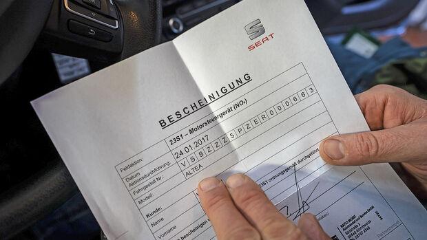 Seat Altea, Dieselnachrüstung