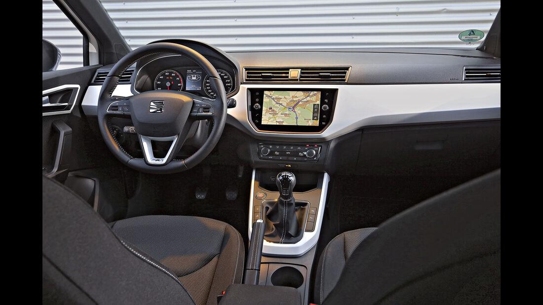 Seat Arona 1.0 TSI, Interieur
