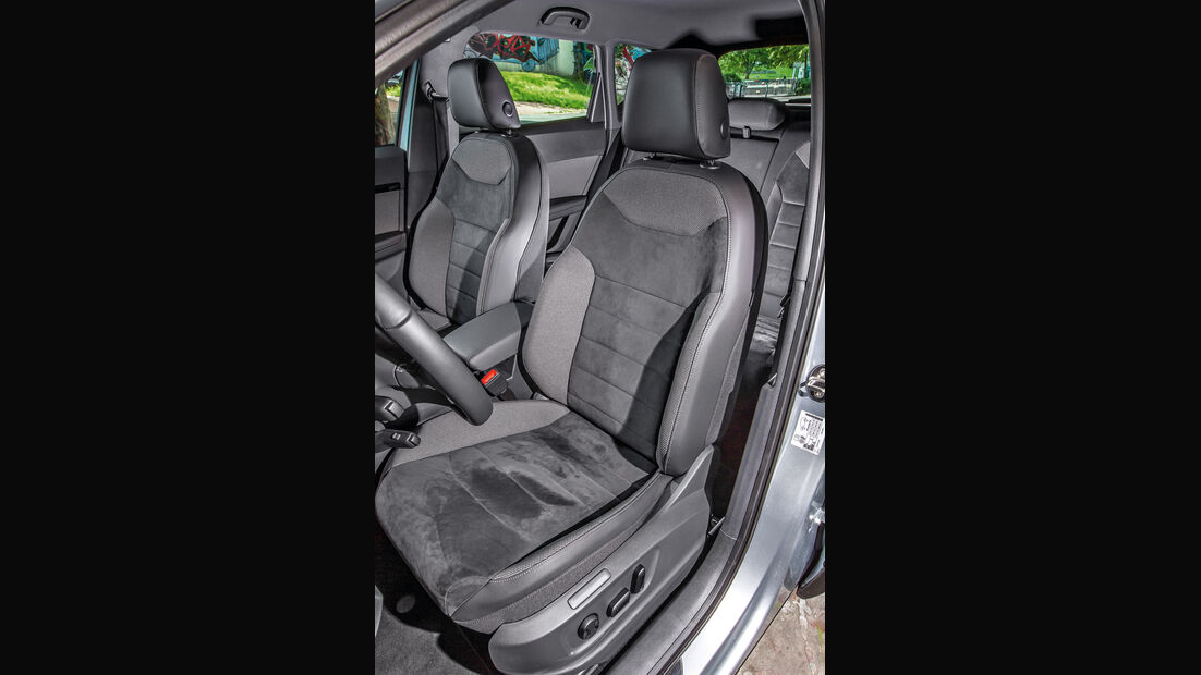 Seat Ateca 1.4 TSI, Sitze