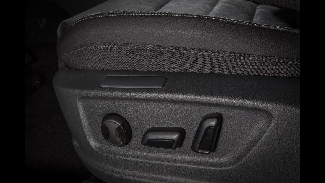 Seat Ateca 1.4 TSI, Sitzverstellung