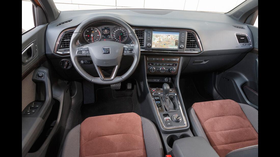 Seat Ateca 2.0 TDI 4Drive, Cockpit