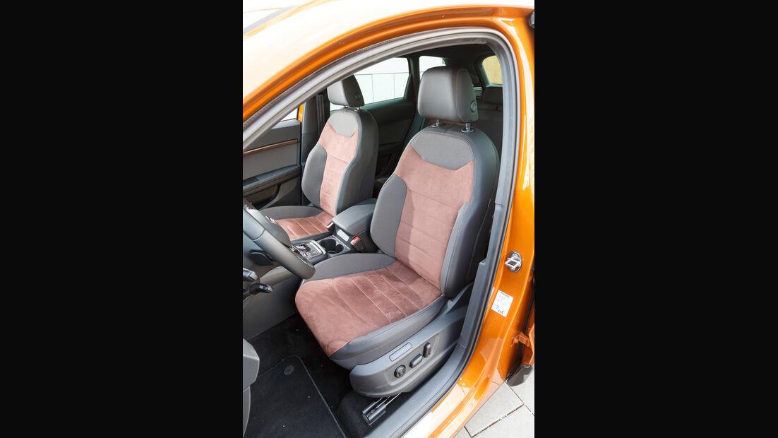 Seat Ateca 2.0 TDI 4Drive, Fahrersitz