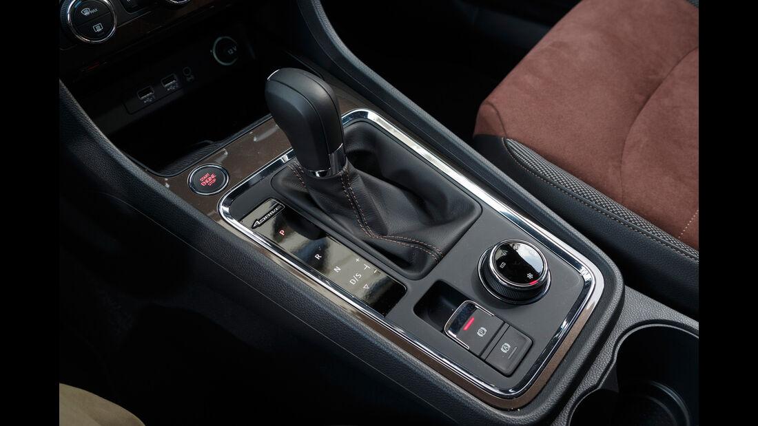 Seat Ateca 2.0 TDI 4Drive, Mittelkonsole