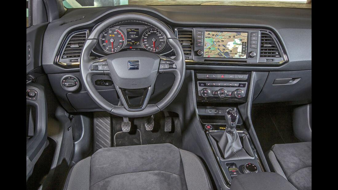 Seat Ateca, Cockpit